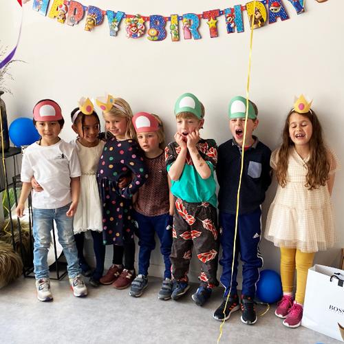 Idee voor kinderfeestje thuis 3