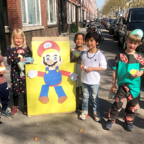 Idee voor kinderfeestje thuis 2
